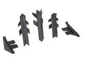 Комплект соединителей к бортику Перфетто-лайн /   SB 135 98656 серый металлик