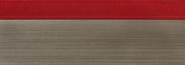 Кромка для ДСП и МДФ плит REHAU (PMMA, 3D, красный глянец, 23х1 мм, двухцветная)