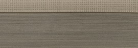 Кромка для ДСП и МДФ плит REHAU (PMMA, 3D, текстиль серебро глянец, 23х1 мм, двухцветная)