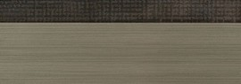Кромка 3D текстиль золото глянец 23х1 мм, PMMA, двухцветная ALVIC
