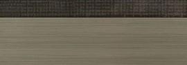Кромка для ДСП и МДФ плит REHAU (PMMA, 3D, текстиль темное золото глянец, 23х1 мм, двухцветная)