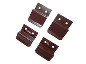 Кронштейн металлический 10мм для МС комплект (4 шт.), коричневый