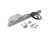 [ПОД ЗАКАЗ] Реечный электропривод Giesse LC 35 (230В, серебро)