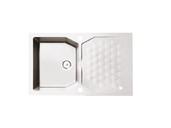 Мойка Alveus Sensual 30 granital, белый жемчуг, 850x520x198мм(+сифон)