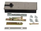 Напольный доводчик Elementis без фиксатора, комплект для алюминиевой двери 800 мм (до 80 кг)