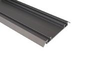Направляющая нижняя FIRMAX, алюминий, янтарно-коричневый, L=5800 мм