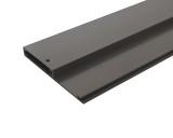Панель передняя Firmax для внутреннего ящика Slimline, L=1100 мм, антрицит (алюминий)