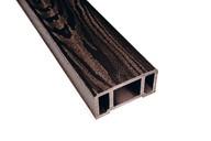 Перила ДПК (текстура дерева) венге, 44х89х3000 мм