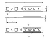 Анкерная пластина для профиля KBE (5-и камерный) [165 мм, 44 мм]