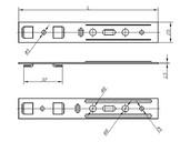 Анкерная пластина для профиля KBE (3-х камерный) [32 мм, 190 мм]