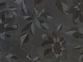 Плита МДФ глянец AGT PAN122-18 черные цветы, 1220*18*2795 мм
