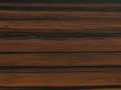 Плита МДФ AGT 1220*18*2800 мм, односторонняя, инд. упаковка, глянец эбеновое дерево 604