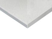 Плита МДФ Белый Жемчуг 1005 глянец УФ-лак, 16*1220*2440 мм