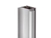 Профиль GOLA Alphalux вертикальный боковой(для шкафов из ДСП=16мм) L=4.5м., алюминий