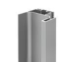 Профиль GOLA FIRMAX вертикальный боковой L=3000mm, алюминий серебро