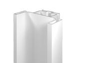 Профиль GOLA FIRMAX вертикальный средний L=3000mm, алюминий белый