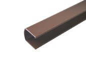Профиль декоративный, коричневый, L=2000