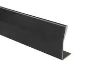 Профиль ручка для фасадов, серия BRIN, L=3000 мм, алюминий, черный.