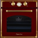 Электрический духовой шкаф Kuppersberg RC 699 BOR Bronze, бордовый