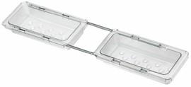 Поддон бельевой для выдвижной рамки Vibo (100x440-520x40 мм) [AVP10T]