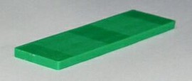 Рихтовочная пластина Bistrong (100x36x5 мм, зелёный)
