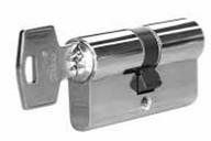 Личинка замка двери Roto 50/50 (никелированный)