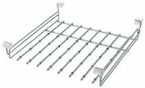 Брючница для выдвижной рамки Vibo (455x510x105 мм, серебро) [APP46ALVG]