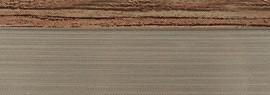 Кромка 3D орех малибу глянец 23х1 мм, PMMA, двухцветная ALVIC