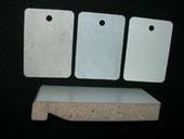 Накладка торцевая Werzalit пластиковая для Compact 260х19 мм серый