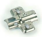 Монтажная планка для петли мебельной FGV серии Clip-on (H=2)