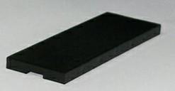 Рихтовочная пластина Bistrong (100x42x6 мм, чёрный)