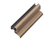 Профиль водоотводный с термовставкой, N22/30, алюминий, бронза, АЛЮСТАРТ