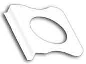 Ручка для москитной сетки ABS (белый)