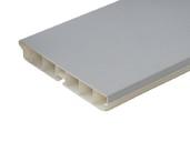 Радиусный элемент универсальный пластик Алюминий гладкий  H=100мм FIRMAX