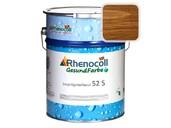 """Лак фасадный Rhenocoll Impragnierlasur 52S c защитой от синевы, """"Английский орех"""", шелковисто-глянцевый 1л"""