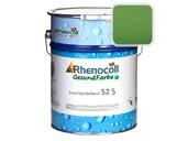 """Лак фасадный Rhenocoll Impragnierlasur 52S c защитой от синевы, """"Grun 6.19"""", шелковисто-глянцевый 1л"""