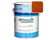 """Лак фасадный Rhenocoll Impragnierlasur 52S c защитой от синевы, """"Коньяк"""", шелковисто-глянцевый 1л"""