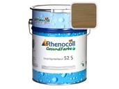 """Лак фасадный Rhenocoll Impragnierlasur 52S c защитой от синевы, """"Макасар коричневый"""", шелковисто-глянцевый 1л"""