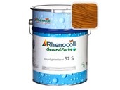 """Лак фасадный Rhenocoll Impragnierlasur 52S c защитой от синевы, """"Подмосковный орех"""", шелковисто-глянцевый 1л"""