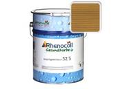 Лак фасадный Rhenocoll Impragnierlasur 52S c защитой от синевы, светлый дуб, шелковисто-глянцевый 1л