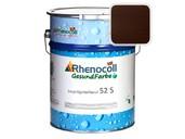 """Лак фасадный Rhenocoll Impragnierlasur 52S c защитой от синевы, """"Венге"""", шелковисто-глянцевый 1л"""