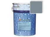 Краска фасадная Rhenocryl Deckfarbe 93A RAL 7001 шелковисто-глянцевая, 1л