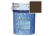Краска фасадная Rhenocryl Deckfarbe 93C RAL 8028,  шелковисто-глянцевая 1л