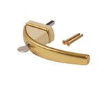 Ручка оконная с ключом Roto Swing, 37 мм, золото, без винтов