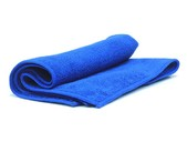 Салфетки Microfiber Blue полировальные многоразовые из микрофибровой ткани 40 х 40 см, 1 шт.