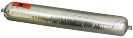 Монтажный профессиональный силиконовый герметик LAKMA Modesil №11 (600 мл, черный)