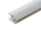 Соединитель 135гр. кухонного цоколя пластик Белый L=1м FIRMAX
