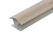 Соединитель 135гр. кухонного цоколя пластик Дуб млечный L=1м FIRMAX
