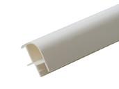 Соединитель 90гр. кухонного цоколя пластик Белый L=1м FIRMAX