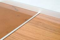 Средняя планка для наборных фасадов 18 мм, серия MONA, алюминий, L=3000 мм, серебро.